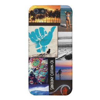 Surf Collage iPhone 5/5S Cases