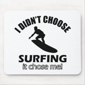 surf design mousepad