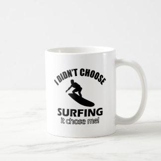 surf design mug