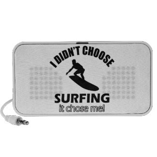 surf design iPod speaker