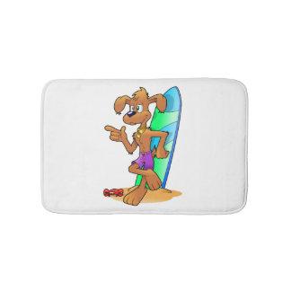 Surf Dog Bath Mat