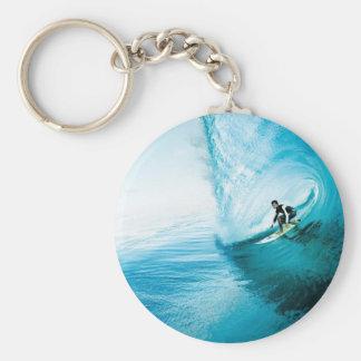 surf dude key ring