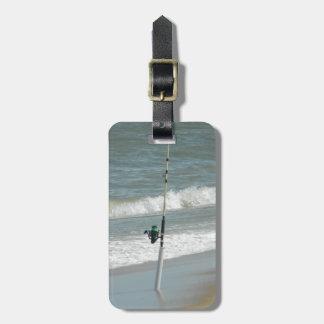 Surf Fishing Luggage Tag