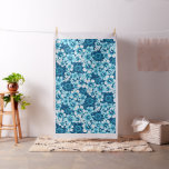 Surf floral hibiscus fabric