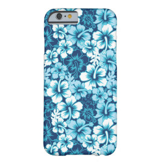 Surf Floral Hibiscus Pattern Barely There iPhone 6 Case
