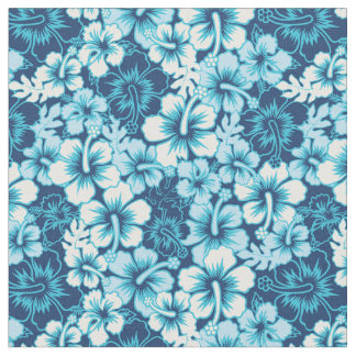 Surf Floral Hibiscus Pattern Fabric