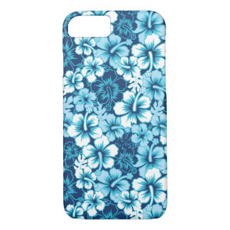 Surf Floral Hibiscus Pattern iPhone 7 Case