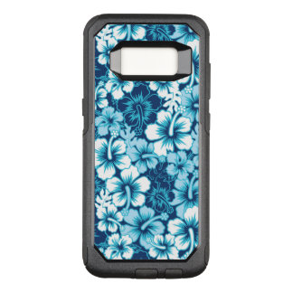 Surf Floral Hibiscus Pattern OtterBox Commuter Samsung Galaxy S8 Case