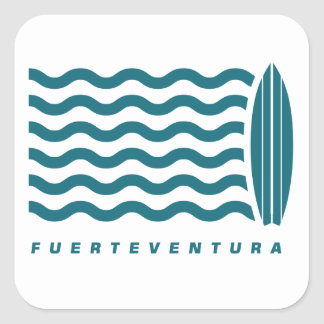 Surf Fuerteventura Square Sticker