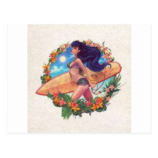 surf_girl postcard