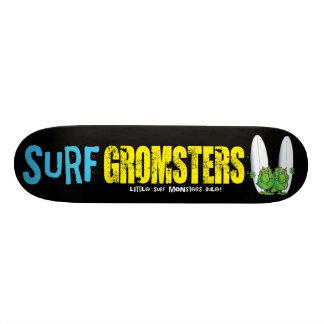 Surf Gromsters yellow deck 18.1 Cm Old School Skateboard Deck