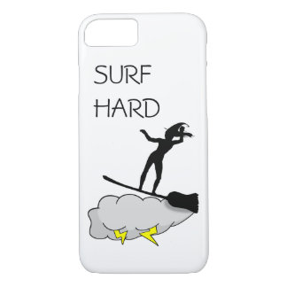 Surf Hard Like A Perfect Witch iPhone 8/7 Case