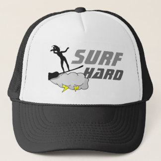 Surf Hard Like A Witch Trucker Hat