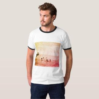 Surf Hawaii 1920s Photo Tropical Beachwear T-Shirt