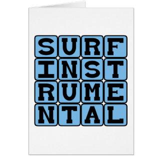 Surf Instrumental, Music Genre Card