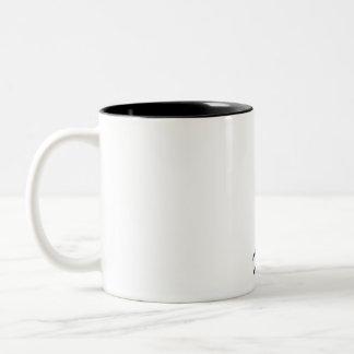 Surf is life Two-Tone mug