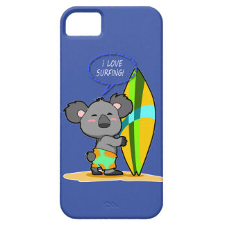 Surf Koala Bear iPhone Case iPhone 5 Cases