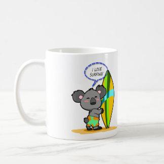 Surf Koala Bear Mug
