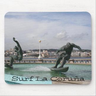 Surf La Coruña Spain Mouse Pad