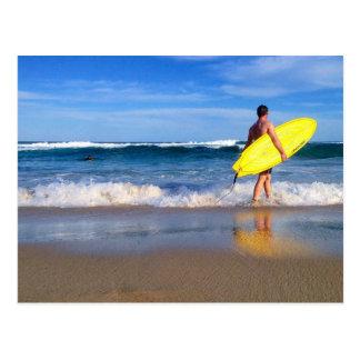 Surf life Australia Bondi beach Postcard