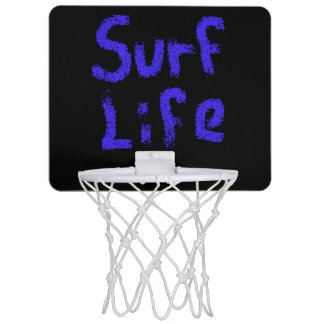 surf life spray painted on any color Thunder_Cove Mini Basketball Hoop