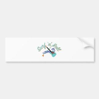 Surf N Roll Bumper Sticker