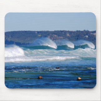 Surf - Newcastle Beach Australia Mouse Pad