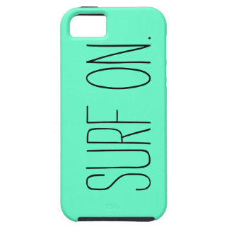 """Surf On"" iPhone 5/5s Case"