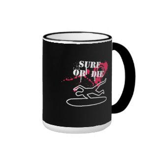 Surf or Die Coffee Mug