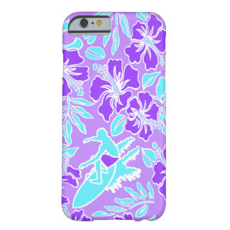Surf Pareau Hawaiian Hibiscus Surfing Barely There iPhone 6 Case
