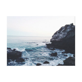 Surf   Rocks   Sea   Ocean Canvas Print