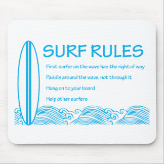 Surf Rules Mousepads