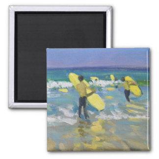 Surf School at St. Ives Magnet