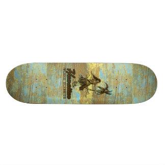 Surf Shack Hawaiian Faux Wood 20 Cm Skateboard Deck