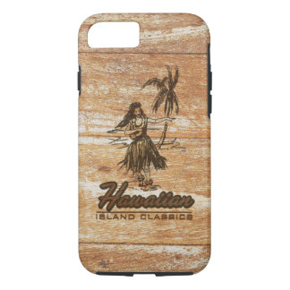 Surf Shack Hawaiian Faux Wood iPhone 8/7 Case