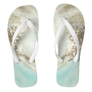 Surf style flip flops