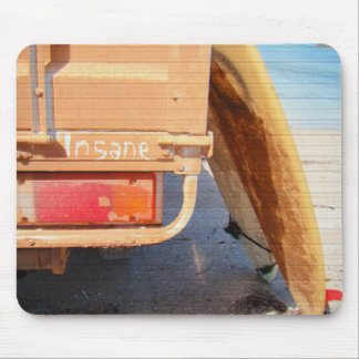 Surf surfboard insane surfing Sand and sea Mouse Pad