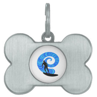 SURF THE THRILL PET TAG