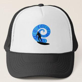 SURF THE THRILL TRUCKER HAT