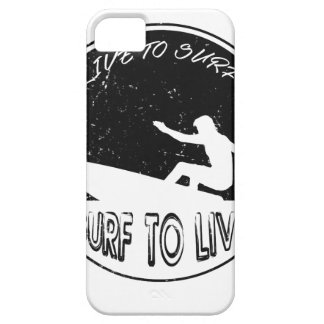 Surf To Live iPhone 5 Covers