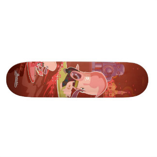surf to New York Skate Board Deck