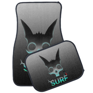 Surf Urban Graffiti Cool Cat Car Mat