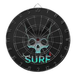 Surf Urban Graffiti Cool Cat Dartboard