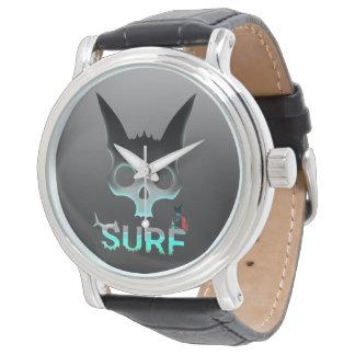Surf Urban Graffiti Cool Cat Watch