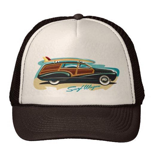 Surf Wagon Woody Hats