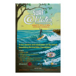 """Surf @Water Poster- 11"""" x 17"""""""