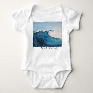 surf wave grommet ocean baby onsie baby bodysuit