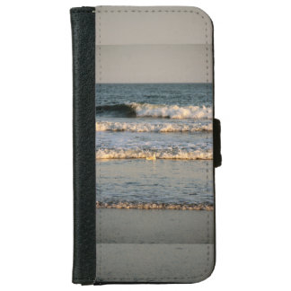 Surf Waves and Gull iPhone 6 Wallet Case