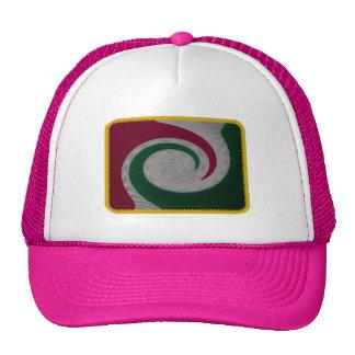 Surf waves surfer embroidered effect hat