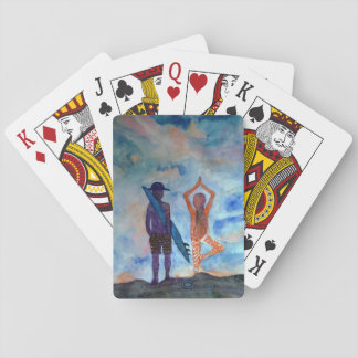 Surf Yoga Summer Art Classic Playing Cards